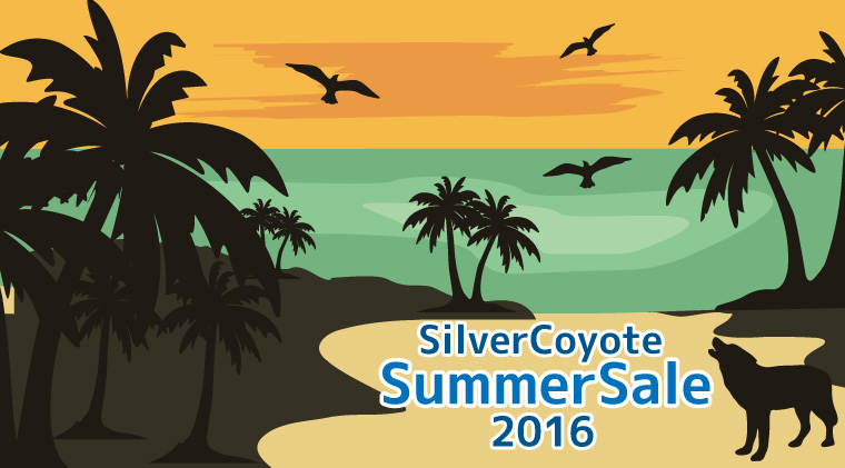 2016年サマーセール!7/31まで!絶好調SilverCoyoteを50%OFF!